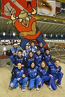 SCHAATSEN: HEERENVEEN: IJsstadion Thialf, 03-2004, VikingRace, Team Italy, ©foto Martin de Jong