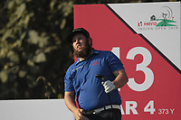 Andrew Johnston (ENG) in action on the 13th during Round 1 of the Hero Indian Open at the DLF Golf and Country Club on Thursday 8th March 2018.<br /> Picture:  Thos Caffrey / www.golffile.ie<br /> <br /> All photo usage must carry mandatory copyright credit (&copy; Golffile | Thos Caffrey)