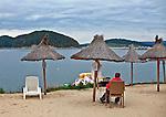 Polańczyk - plaża po sezonie