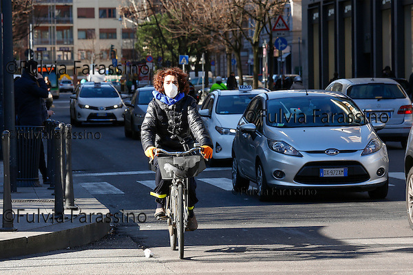 Milano febraio 2016, Via Moscova