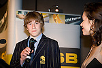 Stacey Morrison interviews Sportsman of the Year Paul Snow-Hansen. ASB College Sport Young Sportperson of the Year Awards 2007 held at Eden Park on November 15th, 2007.