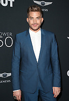 HOLLYWOOD, CA - AUGUST 10: Adam Lambert, at OUT Magazine's Inaugural POWER 50 Gala &amp; Awards Presentation at the Goya Studios in Los Angeles, California on August 10, 2017.<br /> CAP/MPIFS<br /> &copy;MPIFS/Capital Pictures