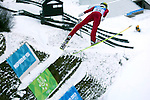 Russia's Nikita Oks competes during the training of the Nordic Combined NH as part of the Trentino 2013 Winter Universiade Italy on 12/12/2013 in Predazzo, Italy.<br /> <br /> &copy; Pierre Teyssot - www.pierreteyssot.com