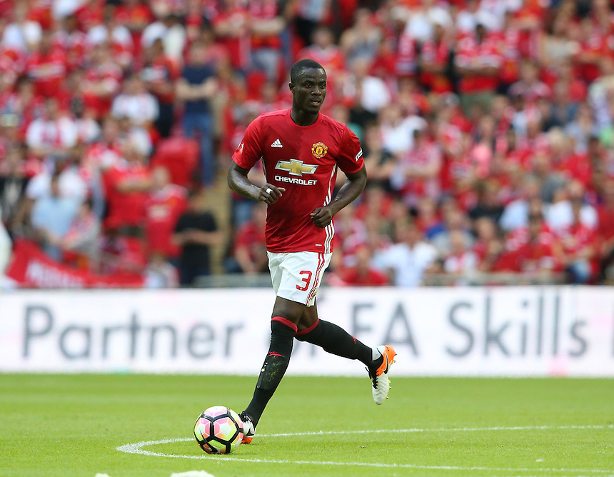 Manchester United's Eric Bailly<br /> <br /> Photographer Stephen White/CameraSport<br /> <br /> Football - The FA Community Shield - Leicester City v Manchester United - Sunday 7 August 2016 - Wembley Stadium - London<br /> <br /> World Copyright &copy; 2016 CameraSport. All rights reserved. 43 Linden Ave. Countesthorpe. Leicester. England. LE8 5PG - Tel: +44 (0) 116 277 4147 - admin@camerasport.com - www.camerasport.com