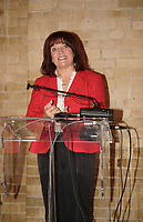 Toronto (ON) CANADA, May 2, 2007<br /> <br /> Margaret Trudeau  launch this spring's Mood Disorders Association of Ontario's Check Up from the Neck Up mental health campaign. MDAO created the campaign, now going province wide and bilingual, to help people take control of their mental health.<br /> <br /> photo by Neil Burstyn - Images Distribution