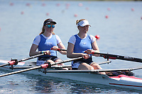 Race: 43  Event: WJ17 2x  B Final<br /> <br /> Junior Sculling Regatta 2018<br /> <br /> To purchase this photo, or to see pricing information for Prints and Downloads, click the blue 'Add to Cart' button at the top-right of the page.