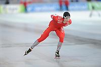 SCHAATSEN: BOEDAPEST: Essent ISU European Championships, 08-01-2012, 10000m Men, Sverre Lunde Pedersen NOR, ©foto Martin de Jong