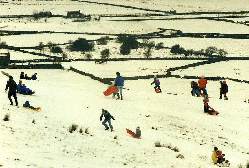 Family Winter Fun & Games, young and old. Maybe Lowry passed by one day on his way to industrial Lancashire