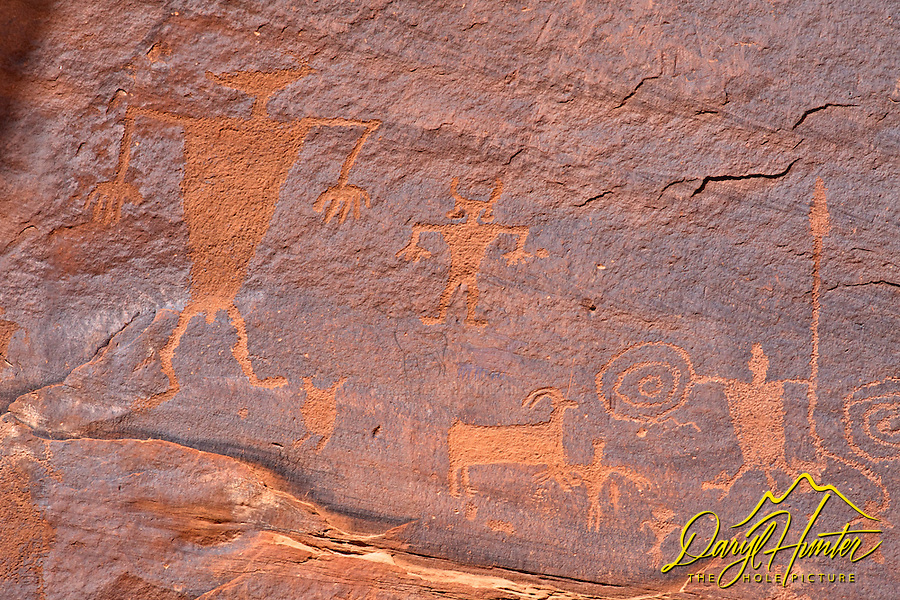 Petroglyphs, Moab, Utah, Canyonlands National Park