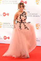 Caroline Flack arriving for the BAFTA TV Awards 2018 at the Royal Festival Hall, London, UK. <br /> 13 May  2018<br /> Picture: Steve Vas/Featureflash/SilverHub 0208 004 5359 sales@silverhubmedia.com