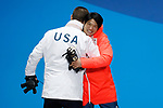 (L-R) Evan Strong (USA), Gurimu Narita (JPN),<br /> MARCH 16, 2018 - Snowboarding : Men's Banked Slalom StandingMedal Ceremony  <br /> at PyeongChang Medal Plaza <br /> during the PyeongChang 2018 Paralympics Winter Games in Pyeongchang, South Korea. <br /> (Photo by Yusuke Nakanishi/AFLO SPORT)
