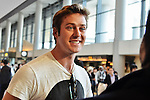 Armie Hammer, May 12, 2013, : Tokyo, Japan : Actor Armie Hammer arrives at Narita International Airport in Chiba prefecture, Japan on May 12, 2013. (Photo by AFLO)