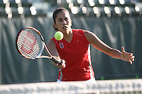 STANFORD, CA - OCTOBER 28:  Isamarie Perez during picture day on October 28, 2008 at the Taube Family Tennis Stadium in Stanford, California.