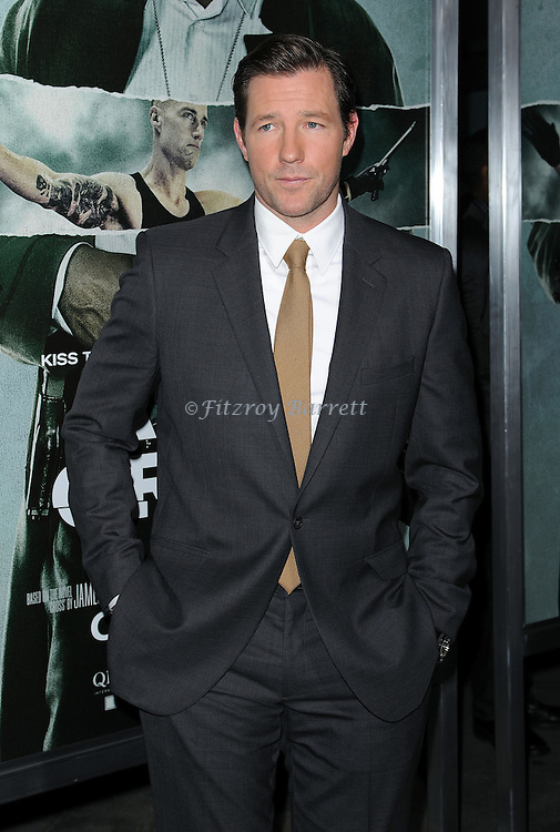 "Edward Burns at the Los Angeles premiere of ""Alex Cross"" held at the Arclight Theater on October 15, 2012."