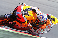 2.06.2012 Barcelona, Spain. Gran Prix Aperol de Catalunya. Qualifying practice. Casey Stoner riding Hondai at Circuit de Catalunya