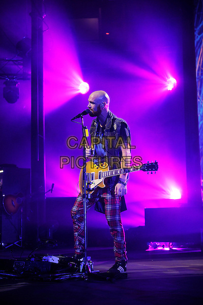 LONDON, ENGLAND - SEPTEMBER 14:  Mark Sheehan of The Script performing at itunes Festival, Camden Roundhouse on September 14, 2014 in London, England.<br /> CAP/MAR<br /> &copy; Martin Harris/Capital Pictures