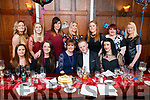 Theresa O'Connor and Robert Stack who celebrated a joint birthday celebration in  front l-r: Triona Lyne, Kimberley McCarthy, Theresa O'Connor, Robert Stack and Christina Dineen. Back Zoe McEvoy, Mary O'Keeffe, Marion Cunningham, Helena O'Leary, Louise Corridan, Fiona Flynn and Tracey Gaynor.