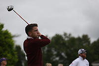 Philip O'Sullivan (Malone) during the final  of the Ulster Mixed Foursomes at Killymoon Golf Club, Belfast, Northern Ireland. 26/08/2017<br /> Picture: Fran Caffrey / Golffile<br /> <br /> All photo usage must carry mandatory copyright credit (&copy; Golffile   Fran Caffrey)