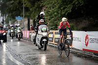 Vincenzo Nibali (ITA/Bahrain-Merida)<br /> <br /> Stage 9 (ITT): Riccione to San Marino (34.7km)<br /> 102nd Giro d'Italia 2019<br /> <br /> ©kramon