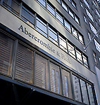 Abercrombie & Fitch, exterior, Midtown Manhattan, New York, New York