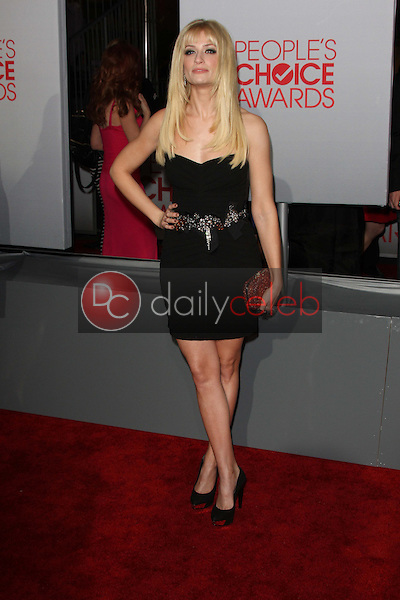 Beth Behrs<br /> at the 2012 People's Choice Awards Arrivals, Nokia Theatre. Los Angeles, CA 01-11-12<br /> David Edwards/DailyCeleb.com 818-249-4998