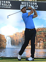 Wade Ormsby (AUS) in action on the 12th during Round 2 of the ISPS Handa World Super 6 Perth at Lake Karrinyup Country Club on the Friday 9th February 2018.<br /> Picture:  Thos Caffrey / www.golffile.ie<br /> <br /> All photo usage must carry mandatory copyright credit (&copy; Golffile   Thos Caffrey)
