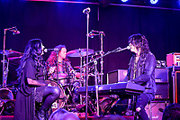 """Savannah Keifer, Backup Vocals and Tom Keifer, Vocals for the """"KEIFER BAND"""" Performs at The Coach House in San Juan Capistrano during their Rise Tour on August 30th, 2019"""