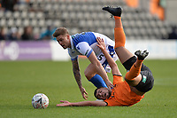 Darnell Smith Of Barnet during Barnet vs Bristol Rovers, Emirates FA Cup Football at the Hive Stadium on 11th November 2018