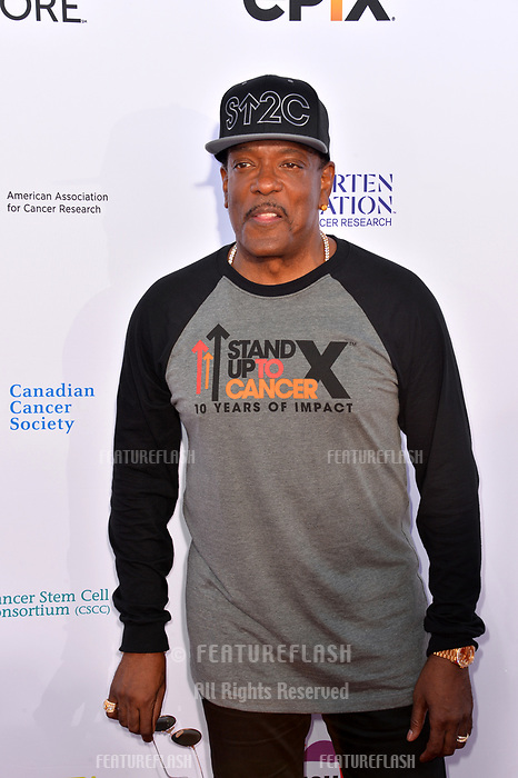 SANTA MONICA, CA. September 07, 2018: Charlie Wilson at the 2018 Stand Up To Cancer fundraiser at Barker Hangar, Santa Monica Airport.