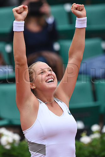 29.05.2016. Stade Roland Garros, Paris, France. Roland Garros French Open Tennis Day 8.  Shelby Rogers (USA)