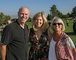 John Sausher, Melinda Wallace and Julie Skow during the Art of Childhood Gala and Fundraiser at Montreux Golf and Country Club on Friday, August 24, 2018.