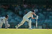 November 4th 2017, WACA Ground, Perth Australia; International cricket tour, Western Australia versus England, day 1; Dawid Malan plays a straight drive during his innings