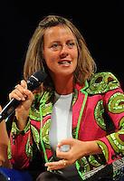 Il ministro della Salute Beatrice Lorenzin PDL Minister<br /> 02-09-2013: Genova Festa Nazionale Partito Democratico<br /> Democratic Party National Meeting <br /> Foto Genovafoto / Insidefoto