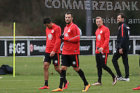 22.02.2016: Eintracht Frankfurt Training