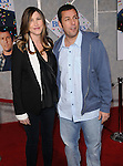 Adam Sandler and wife at the world premiere of Bedtime Stories held at El Capitan Theatre Hollywood, Ca. December 18, 2008. Fitzroy Barrett