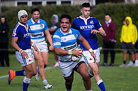 Action from the Wellington secondary schools premiership rugby match between St Pat's College Town and St pat's College Silverstream at Evan's Bay Park in Wellington, New Zealand on Wednesday, 25 July 2018. Photo: Dave Lintott / lintottphoto.co.nz