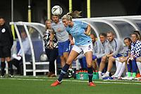 Gemma Bonner of Manchester City Women during Chelsea Women vs Manchester City Women, FA Women's Super League FA WSL1 Football at Kingsmeadow on 9th September 2018