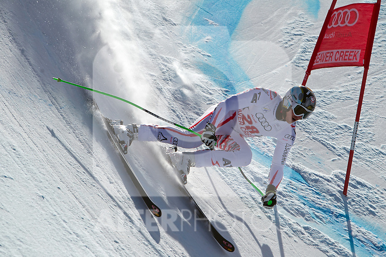 30.11.2011, Birds of Prey, Beaver Creek, USA, FIS Weltcup Ski Alpin, Abfahrt Herren, 2. Training, im Bild  Austrian Ski Team Athlete Hannes Reichelt // during a men's downhill practice session at FIS alpine Ski Worldcup on the Birds of Prey downhill course, Beaver Creek, United Staates on 2011/11/30 , EXPA Pictures © 2011, PhotoCredit: EXPA/ Jonathan Selkowitz..***** ATTENTION - out of USA *****