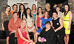 Caroline Hickey celebrating her Hen Party with family and friends  in The Ross Hotel, Killarney on Saturday night.  Seated in front are  Mary Rose Doherty, Caroline and  Christine Hickey and Catriona McCarthy. Back from left are Catherine Somers, Clodagh O'Connor, Aisling Crowley, Sandra Hickey, Tara Courtney, Tina Outlaw, Nicola Dickson, Catriona White, Eileen Moloney and Sarah Doherty. Picture: Eamonn Keogh (MacMonagle, Killarney).