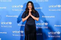 NEW YORK, NY, 12.12.2016 - ONU-UNICEF -  Priyanka Chopra atende fotógrafos durante tapete vermelho do 70º aniversário da UNICEF (Fundo das Nações Unidas para a Infância) na sede da Nações Unidas em New York os Estados Unidos nesta segunda-feira, 12. (Foto: Vanessa Carvalho/Brazil Photo Press)