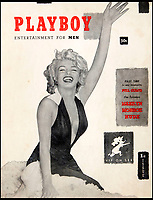 BNPS.co.uk (01202 558833)<br /> Pic: Juliens/BNPS<br /> <br /> The rare first edition featuring the infamous Monroe nude.<br /> <br /> First edition copy of Playboy magazine that belonged to Hugh Hefner has been uncovered after 65 years.<br /> <br /> The 1953 publication, which famously featured Marilyn Monroe on the cover, has recently been unearthed by the late publisher's children, following his death last year.<br /> <br /> They have decided to sell the rare magazine along with a number of his other possessions to raise money for charity.