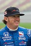 5 August 2007: Buddy Rice (USA) at the Firestone Indy 400, Michigan International Speedway, Brooklyn, Michigan