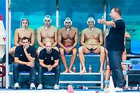 27-07-2019: WK waterpolo: Serbia v Australia: Gwangju<br /> Head Coach SAVIC Dejan (SRB)<br /> Gwangju South Korea 27/07/2019<br /> Waterpolo M46 SRB - AUS<br /> 18th FINA World Aquatics Championships<br /> Nambu University Grounds <br /> Orange Pictures / Deepbluemedia / Insidefoto