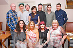 Tina Fitzgerald, Firies (seated 2nd right) had a great evening celebrating her 40th birthday with family in Bella Bia, Tralee last Saturday seated l-r: Louise O'Sullivan with Ciara, Tina and Sheila Fitzgerald. Back l-r: Jason, Martin and Mark Fitzgerald, Caroline Crowley, Gerry Fitzgerald, Alan Quirke and Brian Fitzgerald.