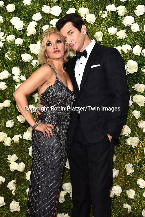 Orfeh and Andy Karl attend the 71st Annual  Tony Awards on June 11, 2017 at Radio City Music Hall in New York, New York, USA.<br /> <br /> photo by Robin Platzer/Twin Images<br />  <br /> phone number 212-935-0770
