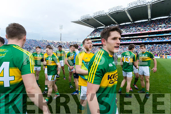 Ronan Shanahan Kerry players celebrate after defeating Dublin at the National League Final in Croke Park on Sunday.