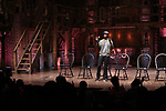 Donald Webber hosts an eduHAM Q & A with the cast of Broadway's 'Hamilton' at The Richard Rodgers Theatre on April 25, 2018 in New York City.