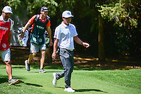 Hideto Tanihara (JPN) makes his way from the 4th tee box  during round 2 of the World Golf Championships, Mexico, Club De Golf Chapultepec, Mexico City, Mexico. 3/3/2017.<br />
