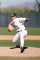 Brett Hunter - Oakland Athletics 2009 Instructional League. .Photo by:  Bill Mitchell/Four Seam Images..