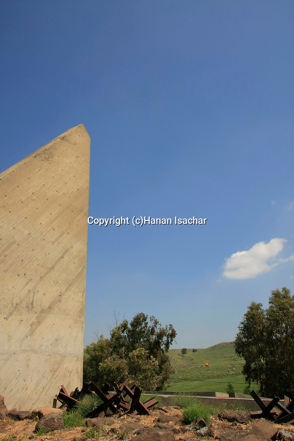 Golan Heights, Ezra Orion's Sculpture Field and Models Monument at Mitzpe Gadot